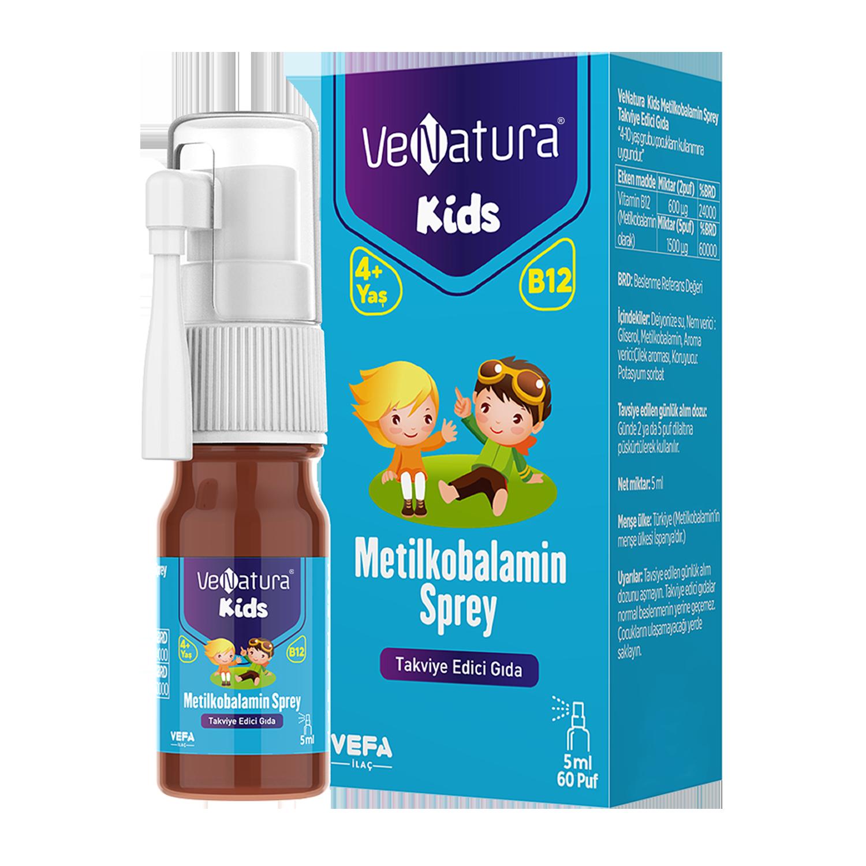 Çocuk Metilkobalamin Sprey Takviye Edici Gıda