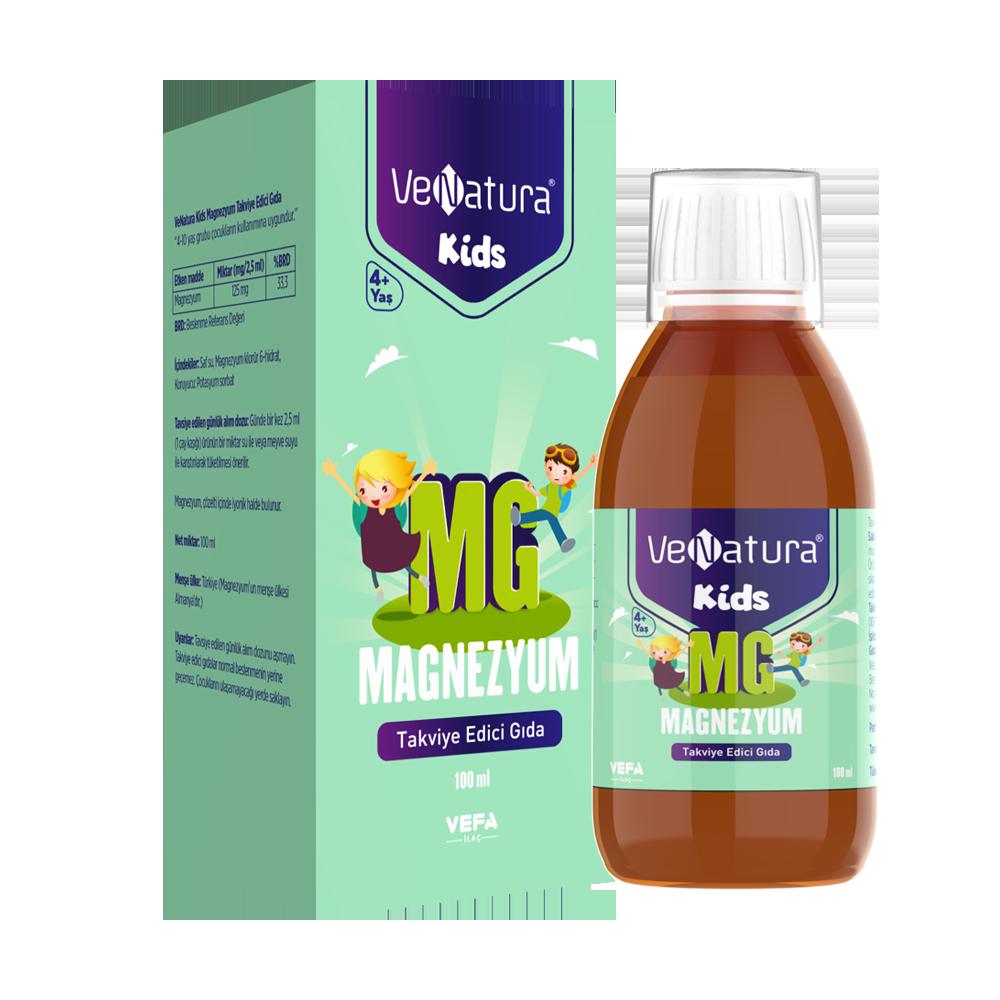 Çocuk Magnezyum Takviye Edici Gıda